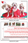 We woof you a Merry Christmas ... 25-Card Pack